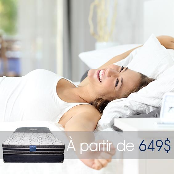 matelas l gance 10 pouces produit matelas lapens e. Black Bedroom Furniture Sets. Home Design Ideas